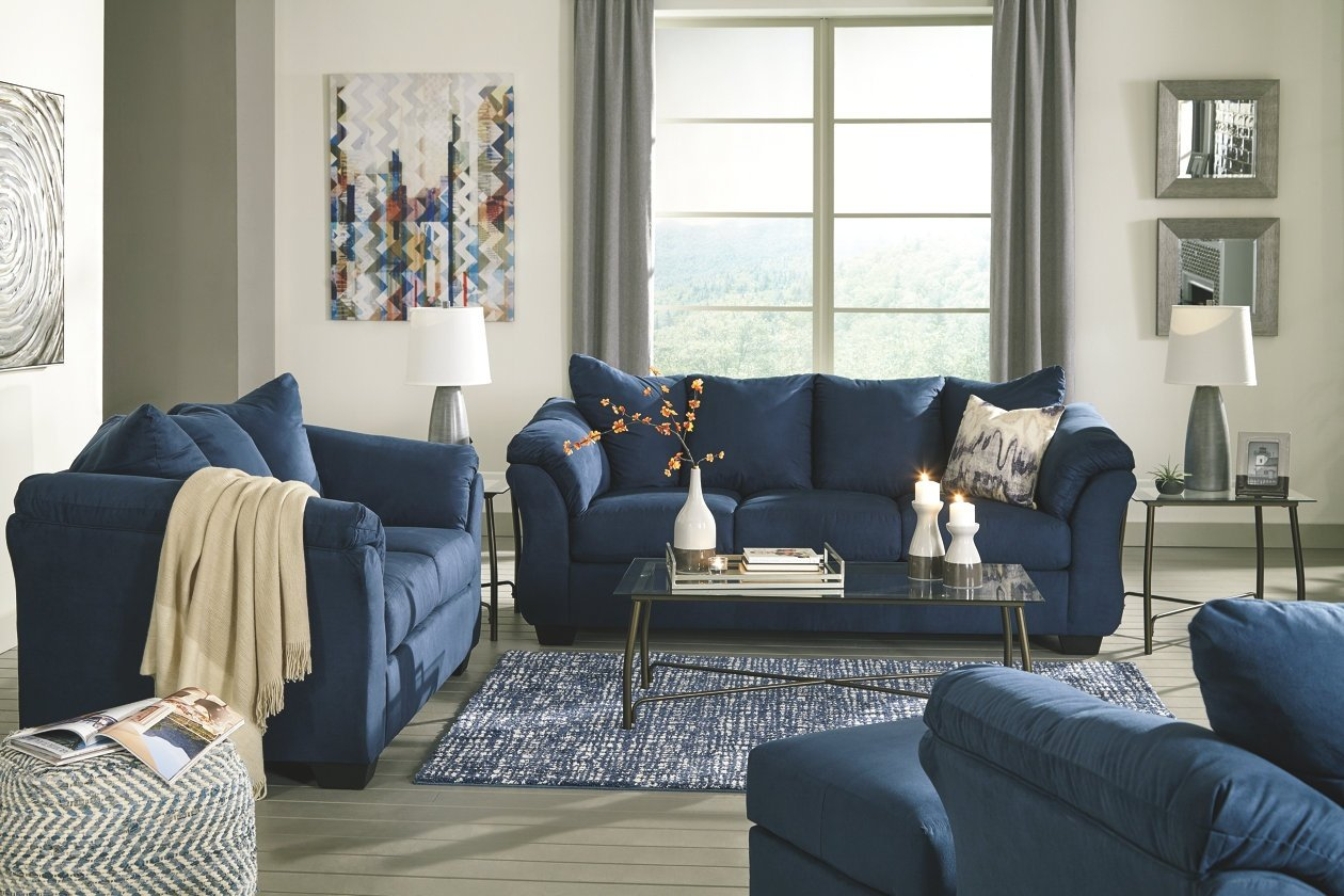 (750) Darcy Living Room Set Available in 7 colors
