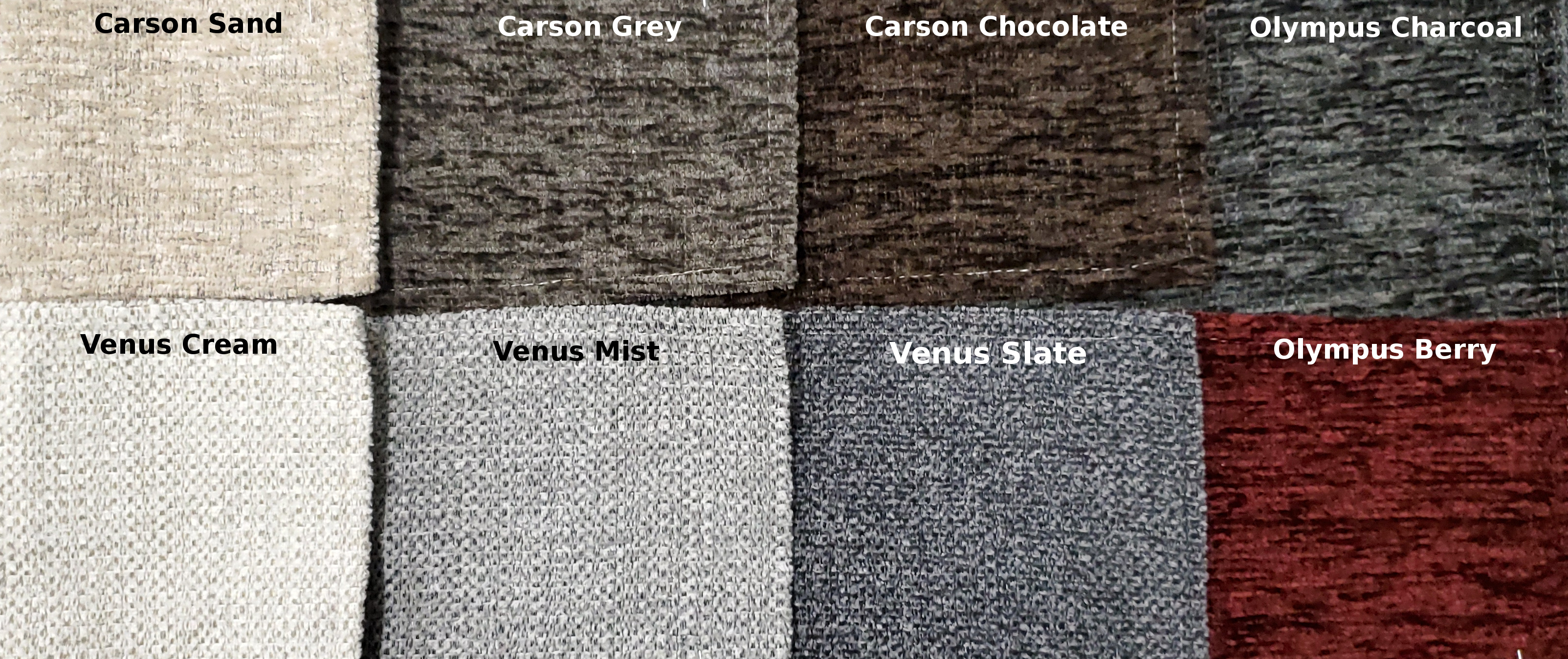 Chenille Swatches