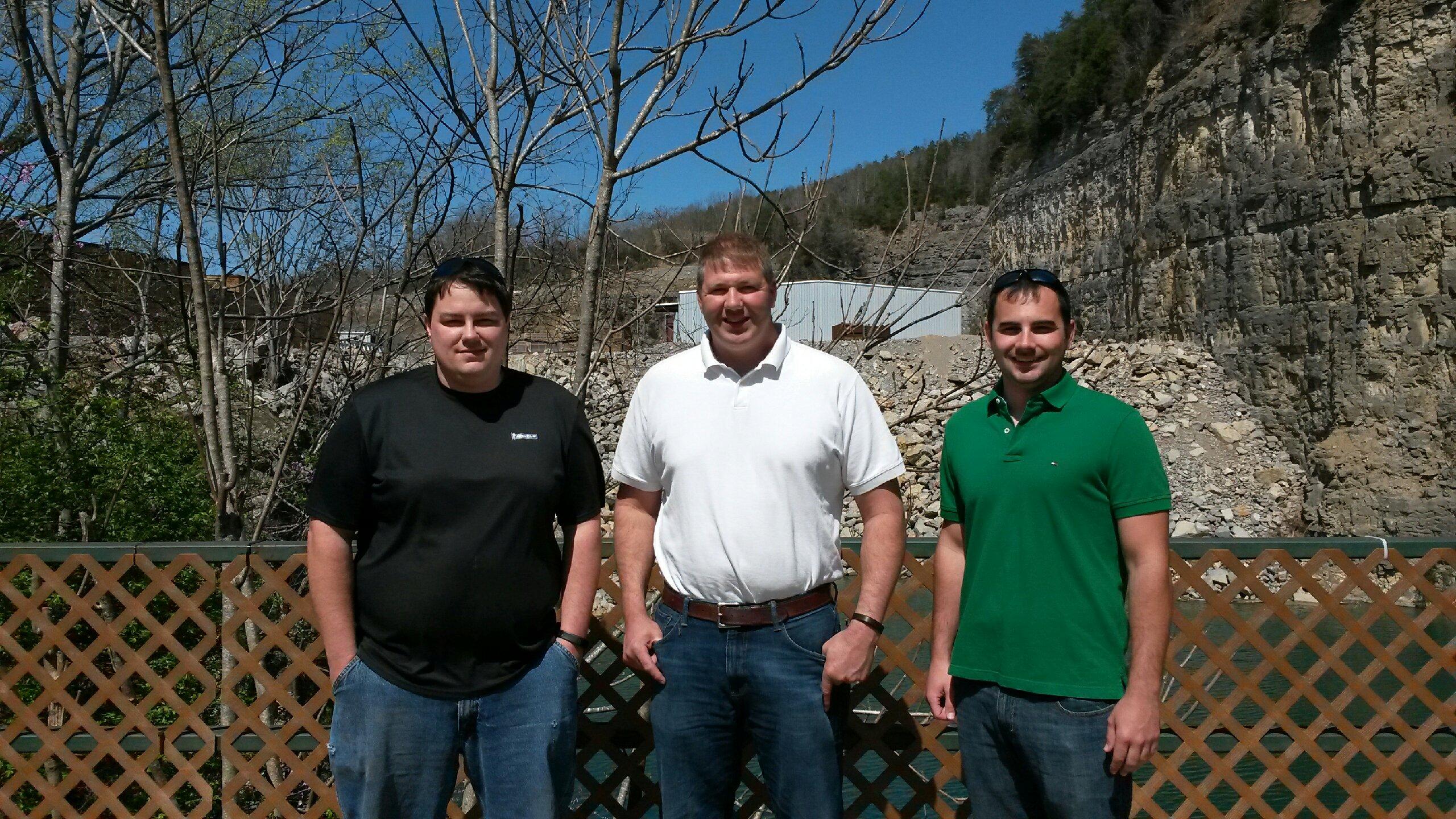 Drew, Jarrod, and Kyle