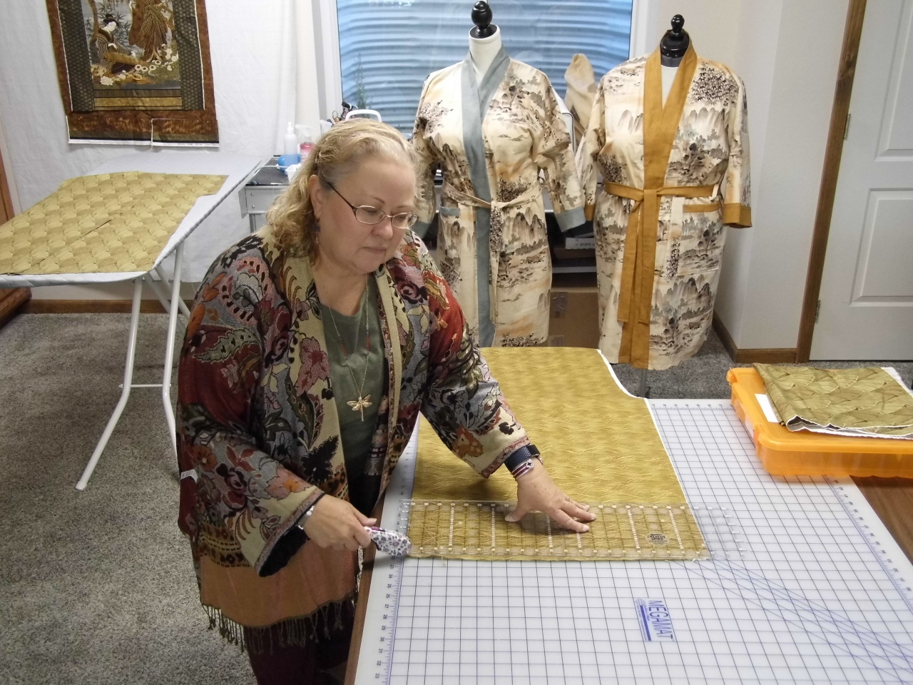 Sheila at the Design Studio