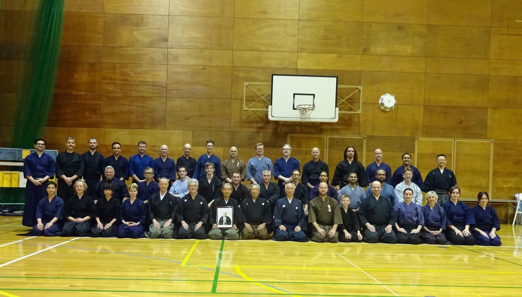 Thursday Pre-Taikai training group photo.