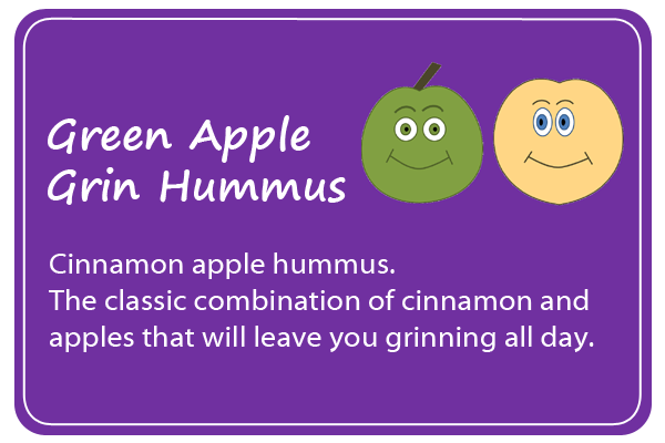Green Apple Grin Hummus