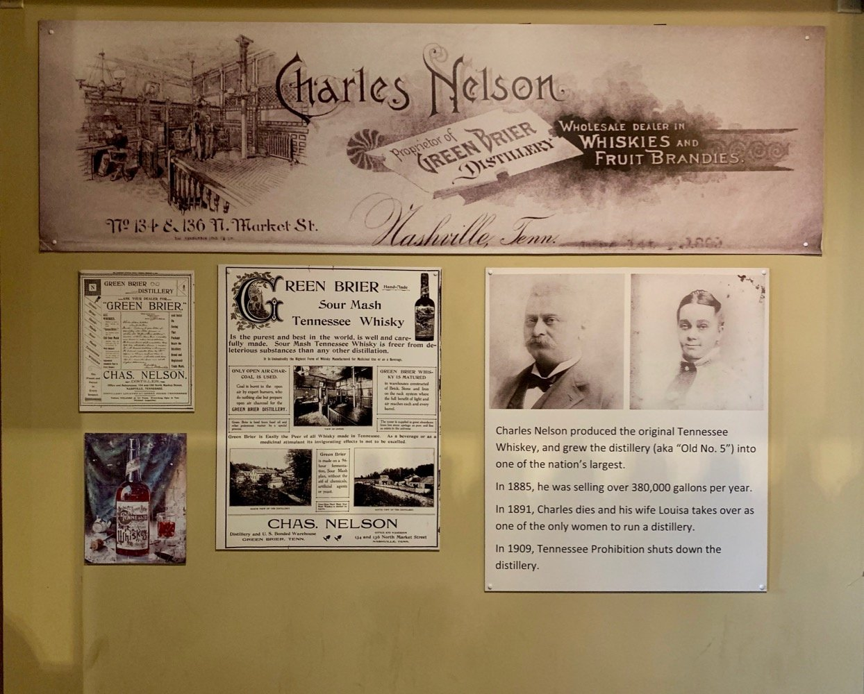 Nelson's Green Brier Distillery History