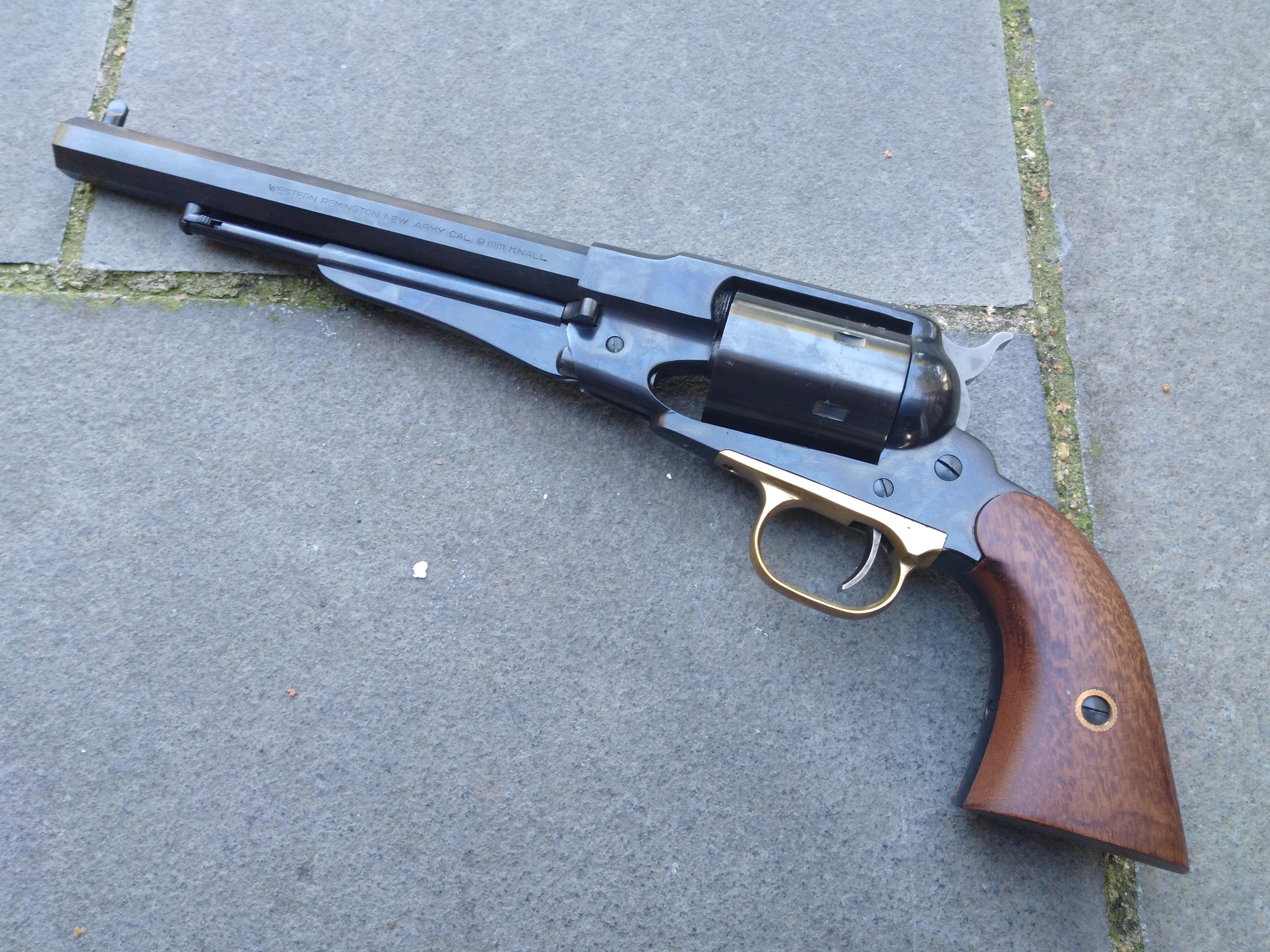 Pietta Steel frame 1858 9mm