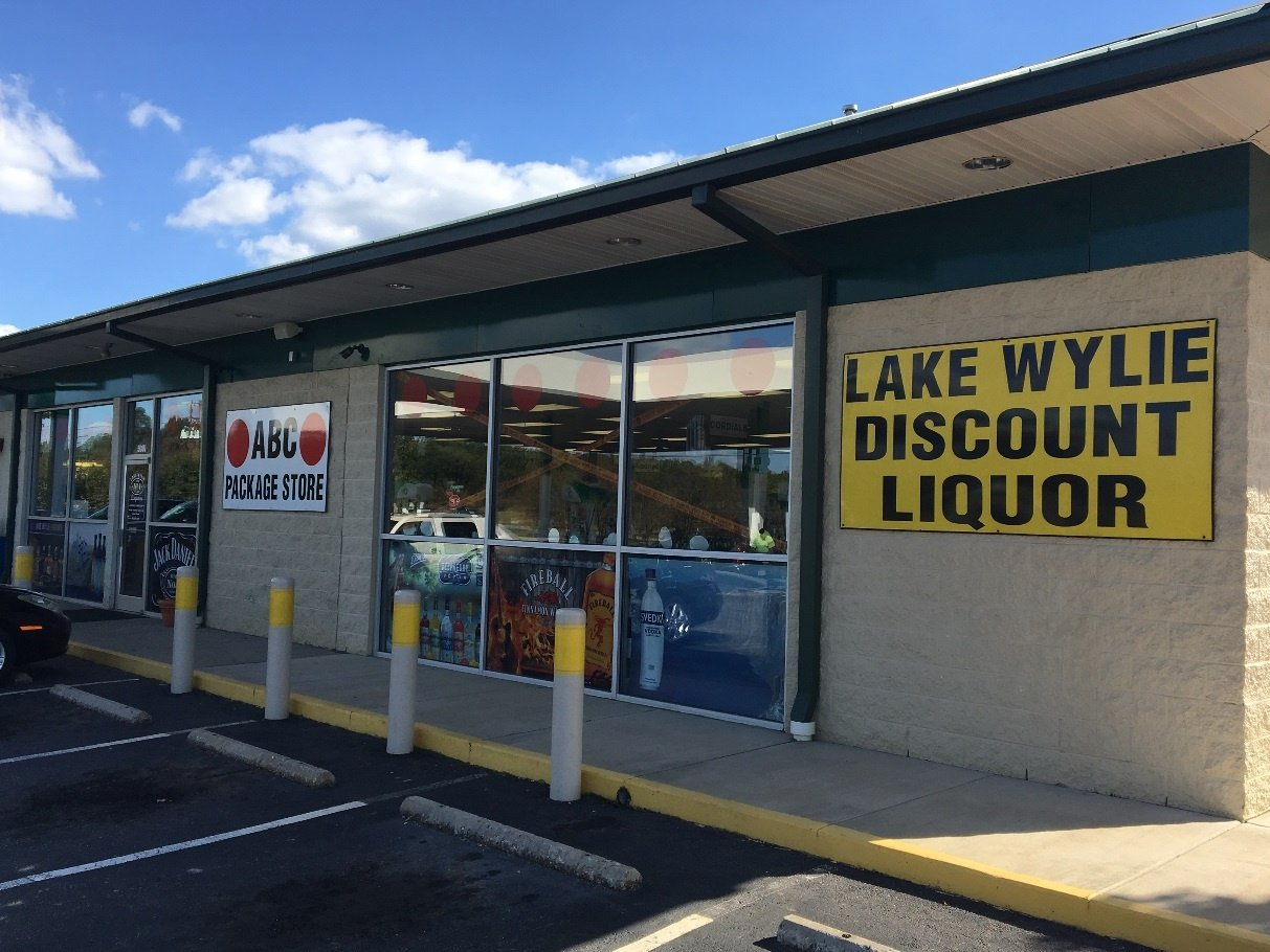 Lake Wylie Discount Liquor Store Front