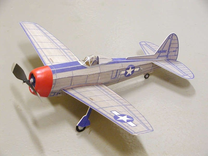 Paul and Ralph Bradley's Model Airplane Hangout - Free Flight Models