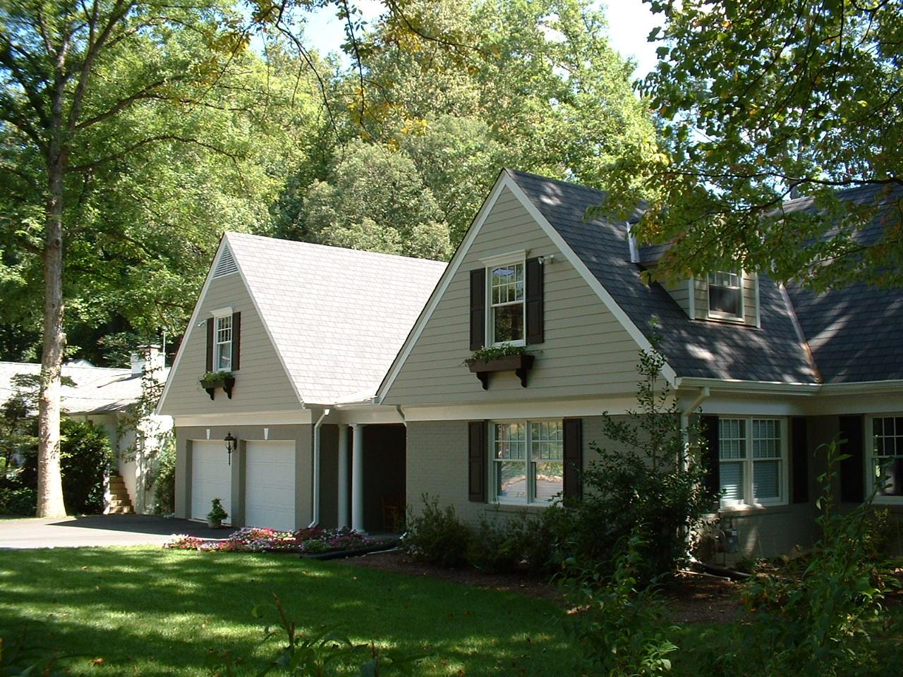 addition, remodel, renovation after A