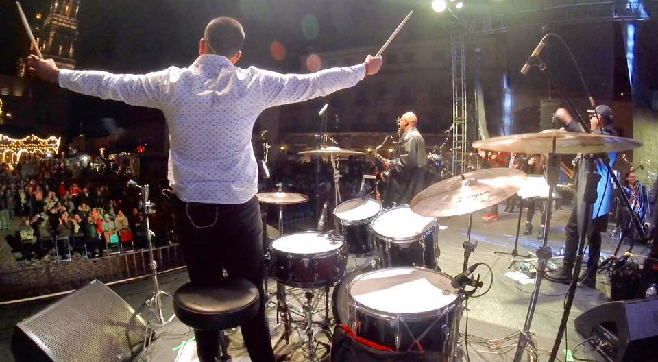 "Performing in Zacatecas with ""San Luis Symphony Orchestra"""