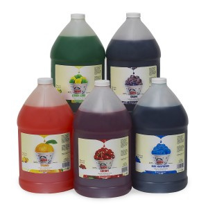 Sno Cone Syrup assorted flavors 1 gal $15.99/each