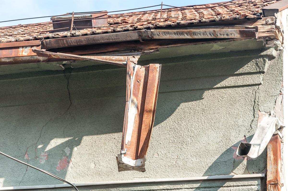 Damaged Gutter