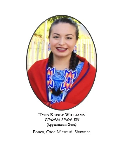 Miss Indian Oklahoma Contestant Representing the Ponca Tribe
