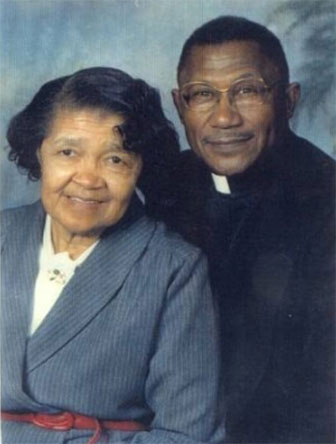 Superintendent Spicer Sr. With Wife