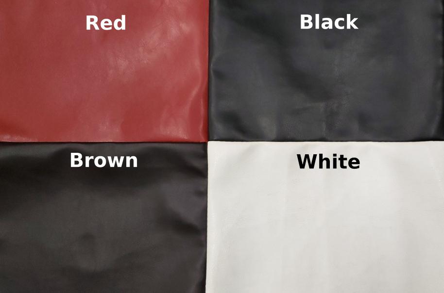 Faux Leather Colors
