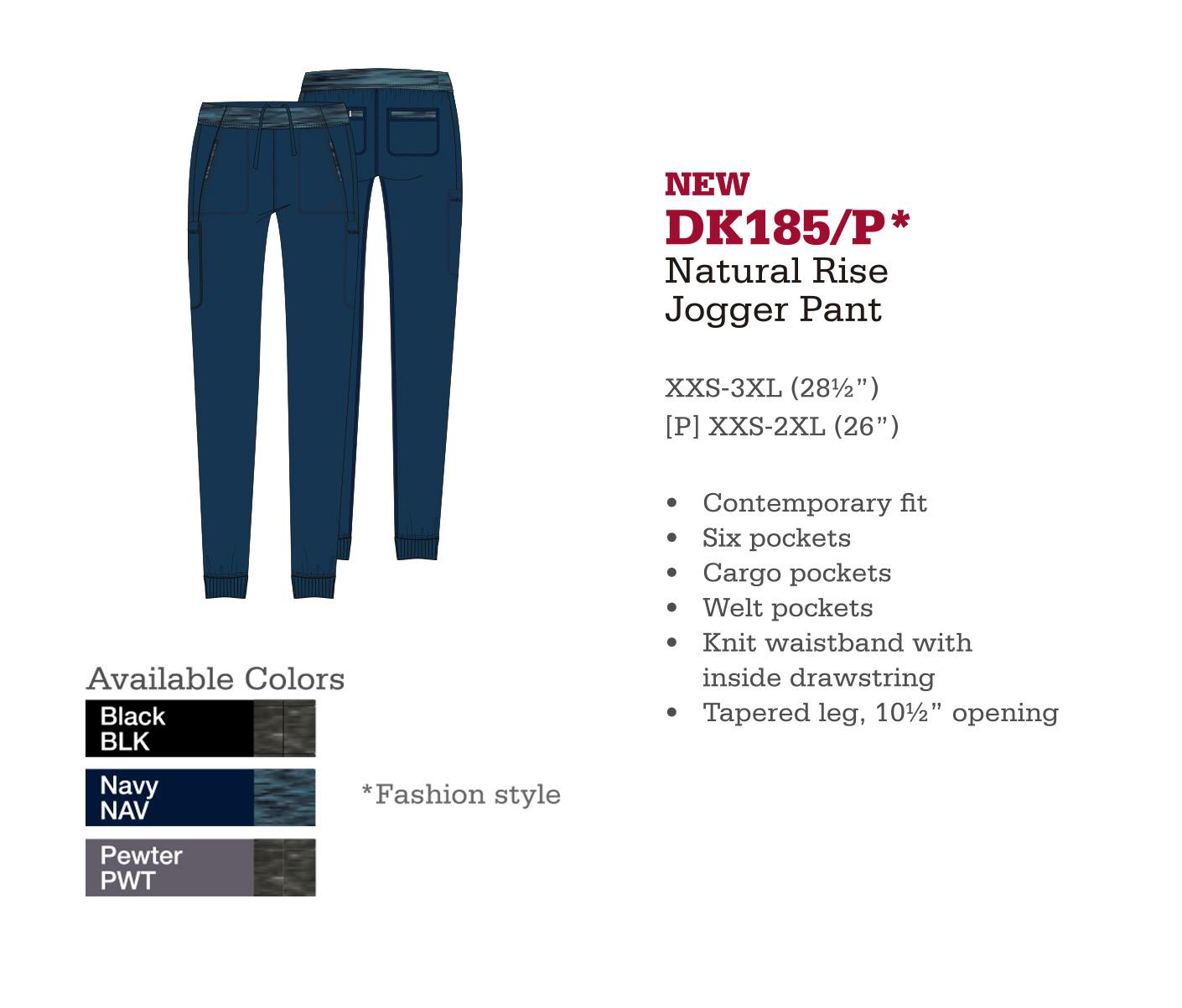 Pantalón Basculador de Levantdo Natural. DK185/P.