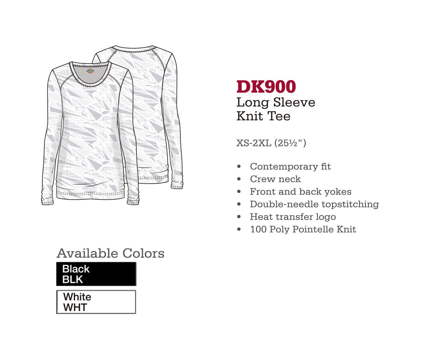 Camisa de Punto de Manga Larga. DK900.