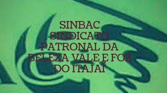 Sinbac Sindicato Patronal da  Beleza do Vale e Foz do Itajaí SC