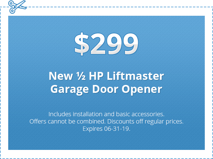 $299 - Budget Garage Doors