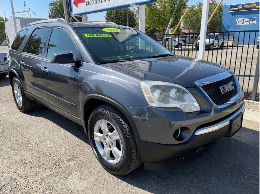 2011 GMC Acadia SL Sport Utility 4D Miles:118,773 Drive:2WD Trans:Automatic, 6-Spd w/Overdrive Engine:V6, 3.6 Liter VIN:295913