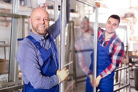 Smiling Workmen