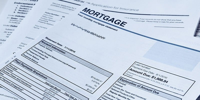 Monthly Mortgage Statement
