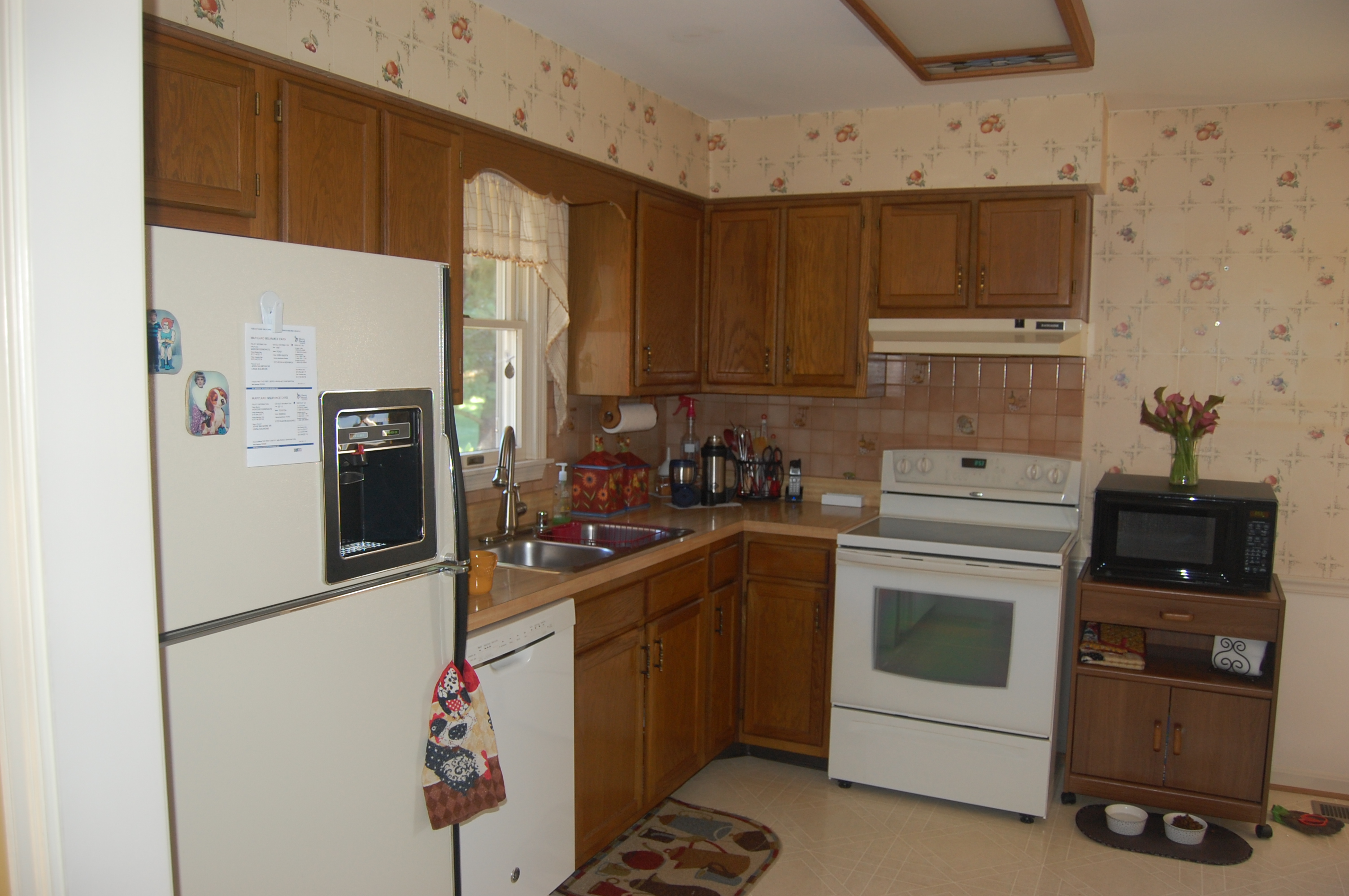 kitchen remodel before F