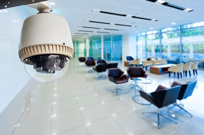 Surveillance operating in office building