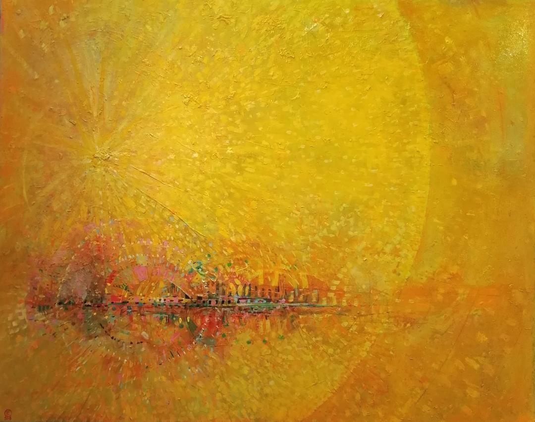Ilusión óleo s/madera 180 x 225 cms