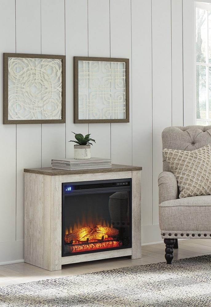 W267 Willowton Mantel w/ Fireplace