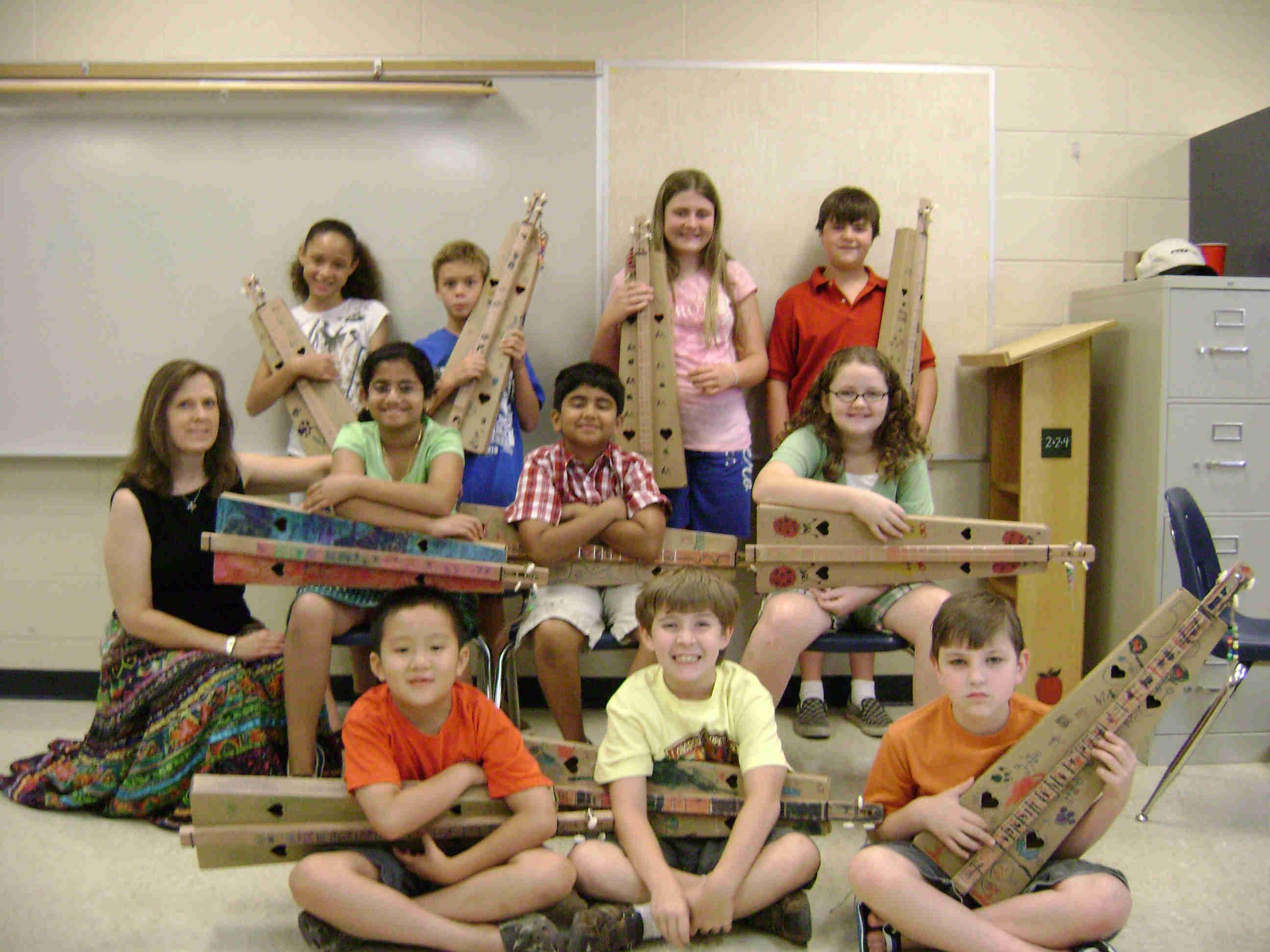 Dulcimer Youth Camp, Harding Academy