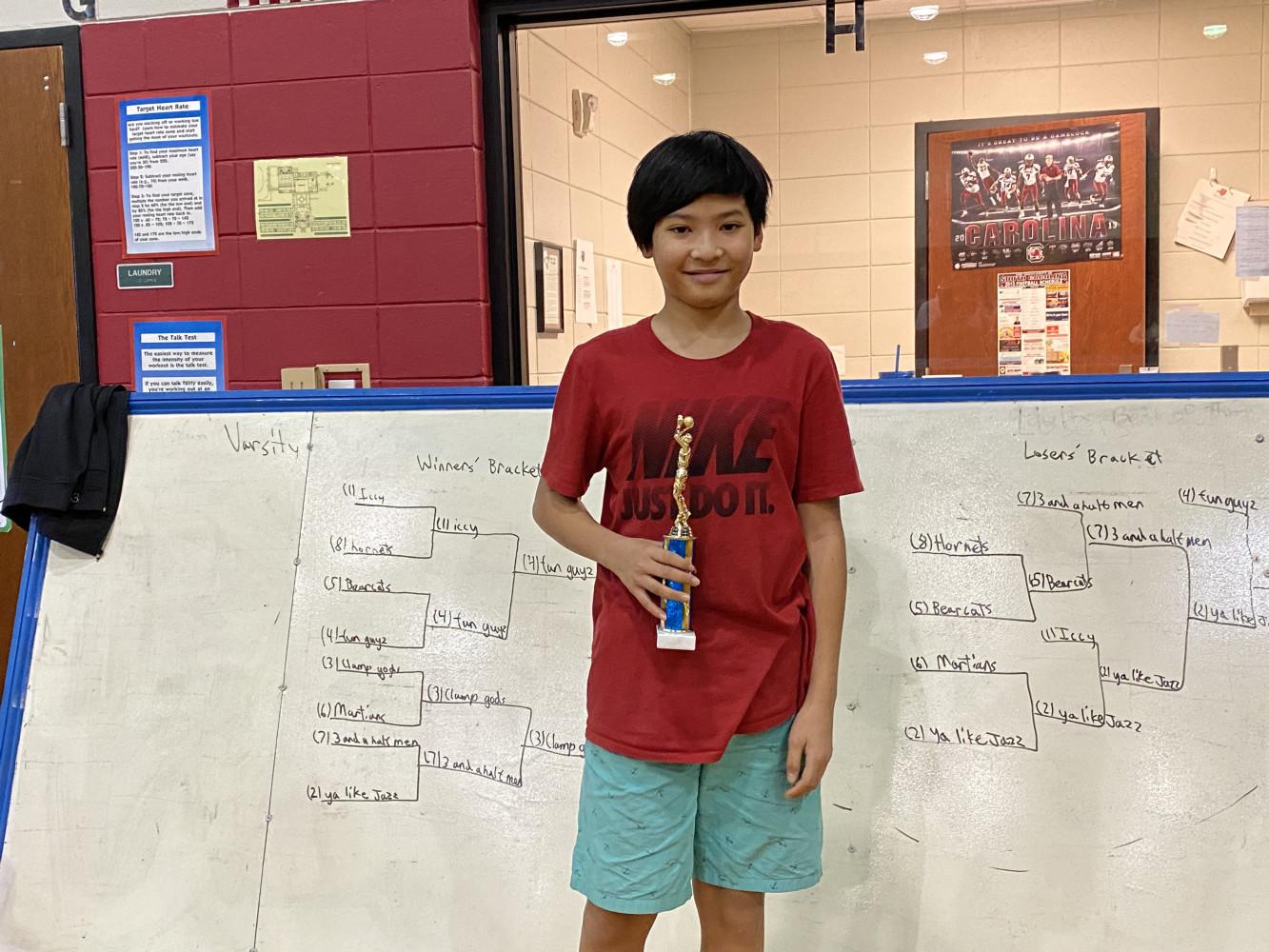 Sportsmanship Winner: Bryan Pham