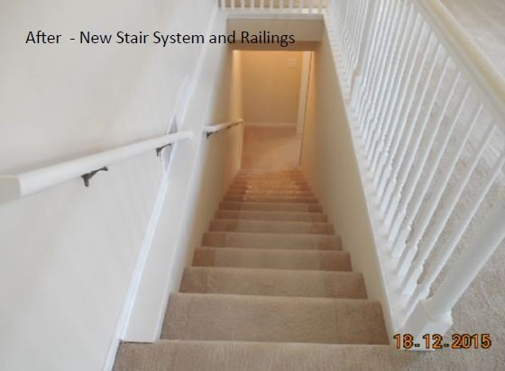 After Stair System Renovation