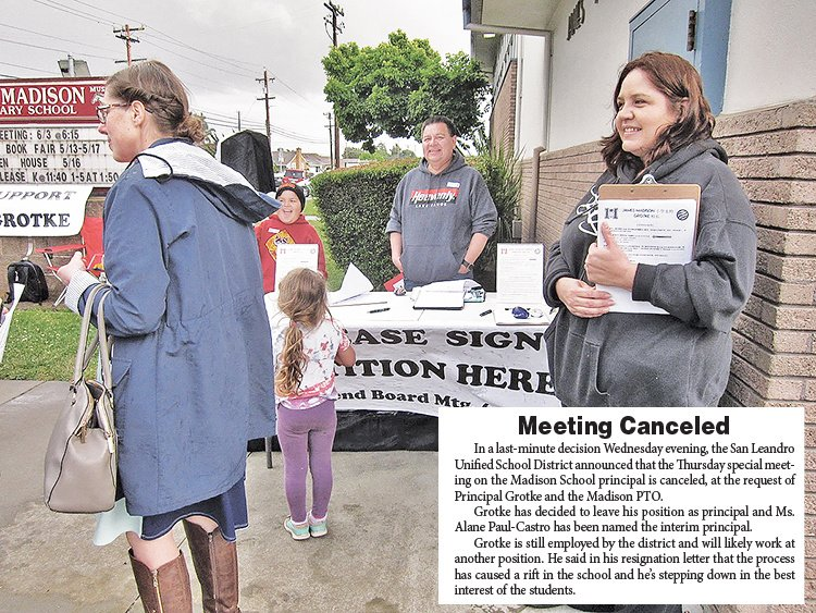3ba3170b6 Madison Parents Protest District s Decision to Reassign Principal