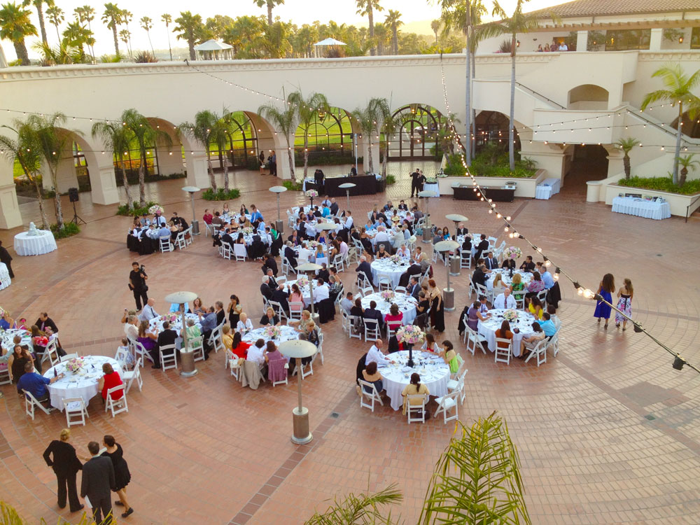 Josh and Ari's wedding reception, Fess Parker's Doubletree Resort, Santa Barbara