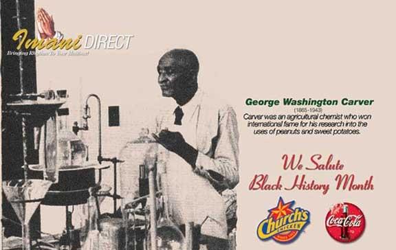 George Washington Carver Envelope