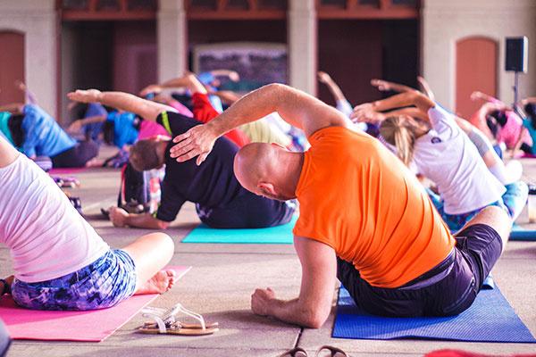 Group Yoga Practice