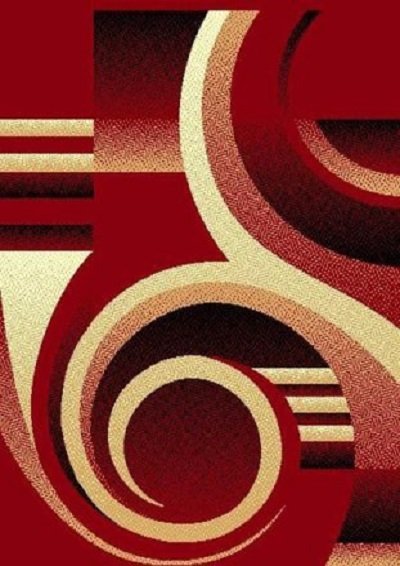 Moderno 19 Red 5x7