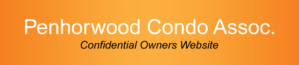Penhorwood Condo Association