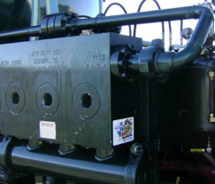 Oilfield Truck Engine