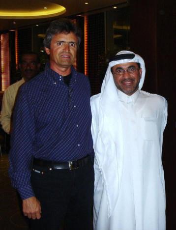 With Chairman of EMAAR - Dubai