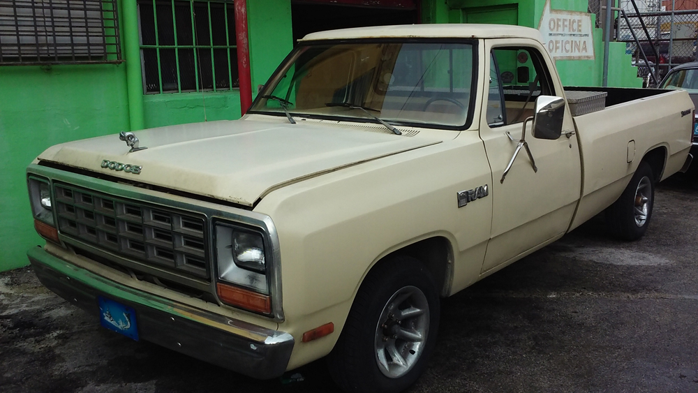 1982 Dodge Ram straight 6cyl.