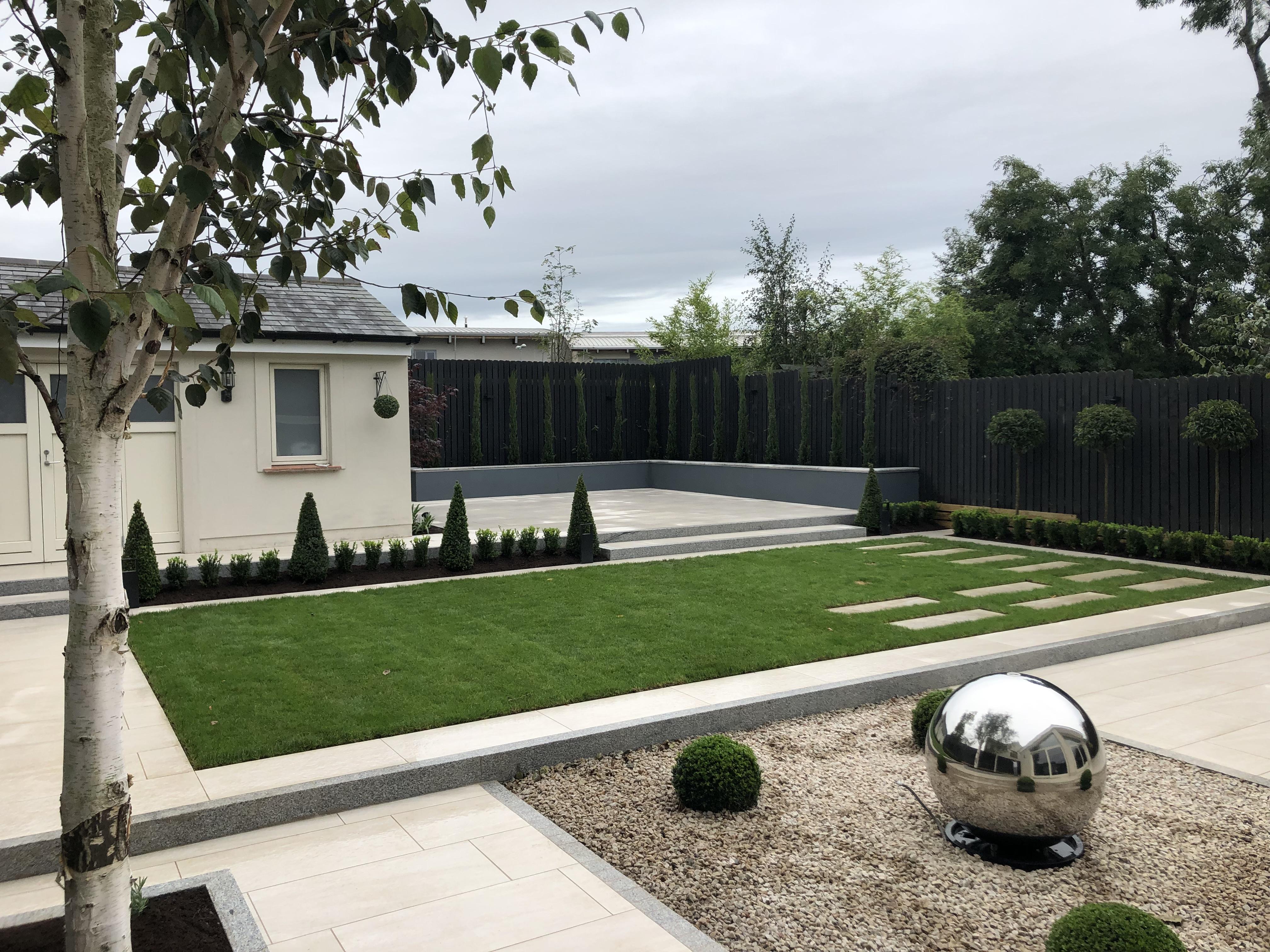 Slick Contemporary Garden Design