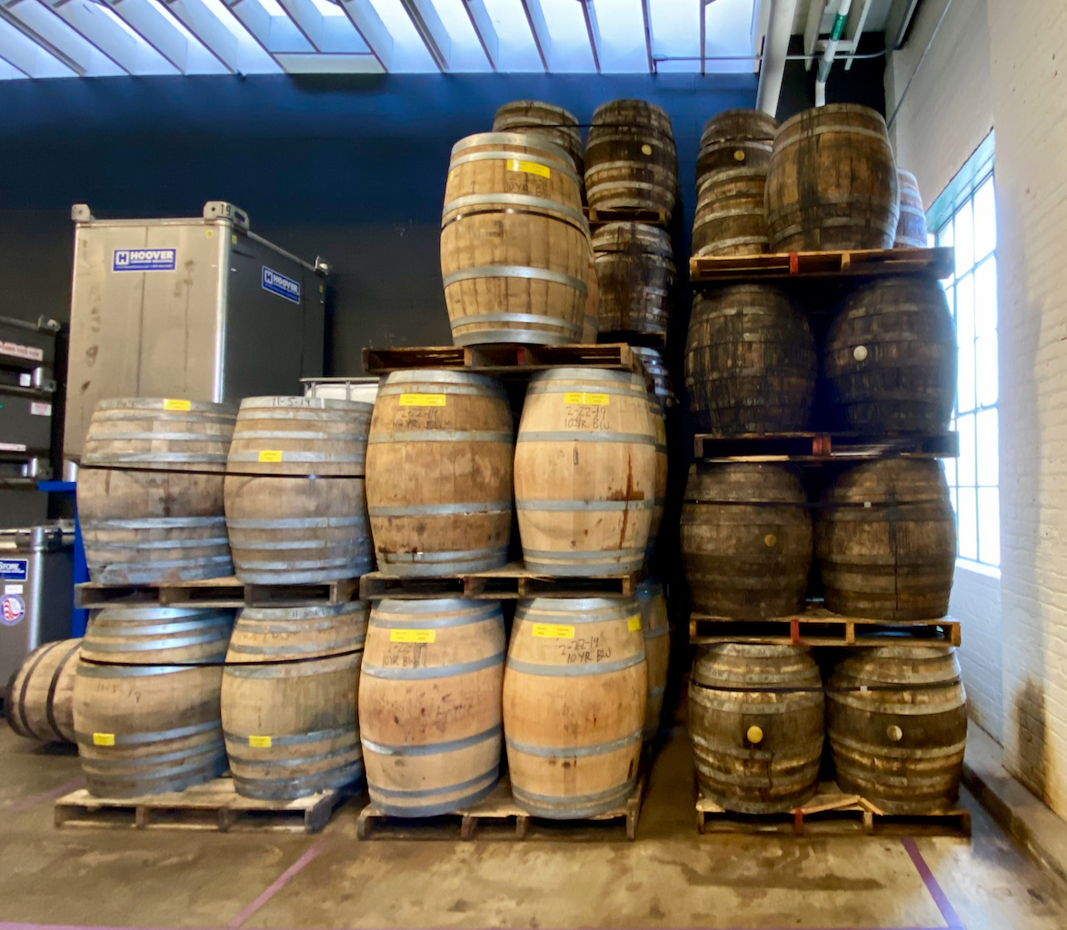 Finishing Barrels - Angel's Envy Angel's Envy Distillery