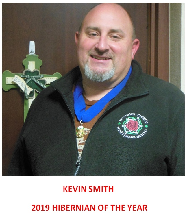 Kevin Smith - 2019 Hibernian of Year