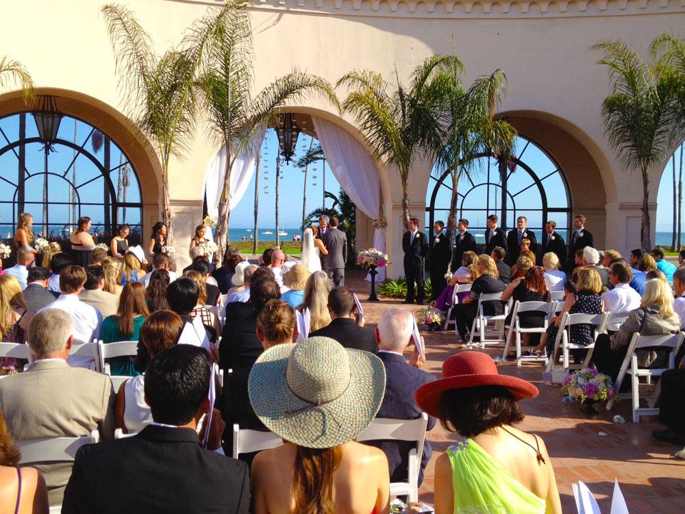 Josh and Ari, Fess Parker's Doubletree Resort, Santa Barbara