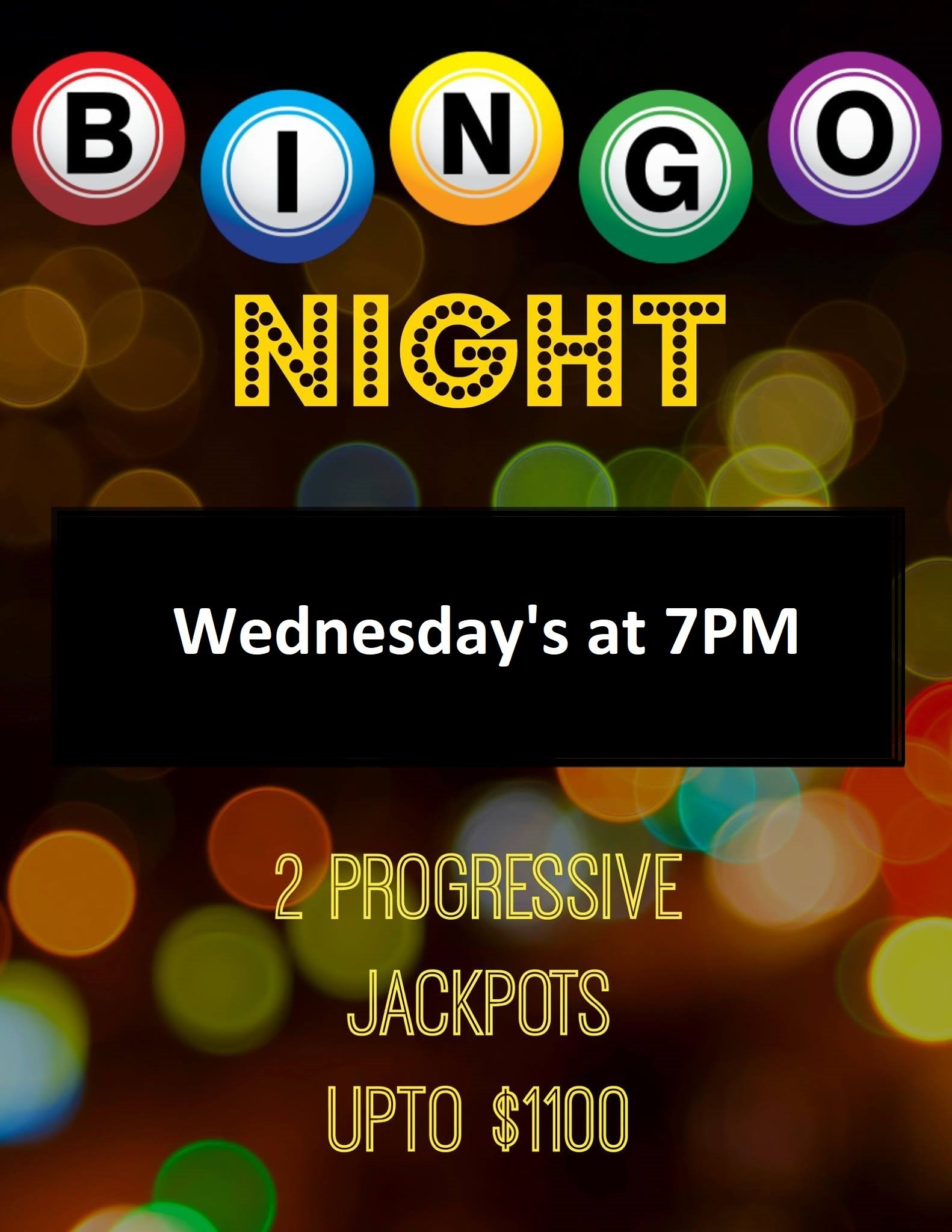 Neisens Sport Bar and Grill Bingo Night
