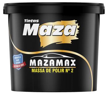MASSA DE POLIR  1KG AUTOMOTIVA  BASE ÁGUA  2 MAZAMAX