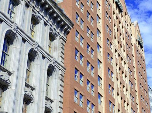 Brick And Mortar Buildings
