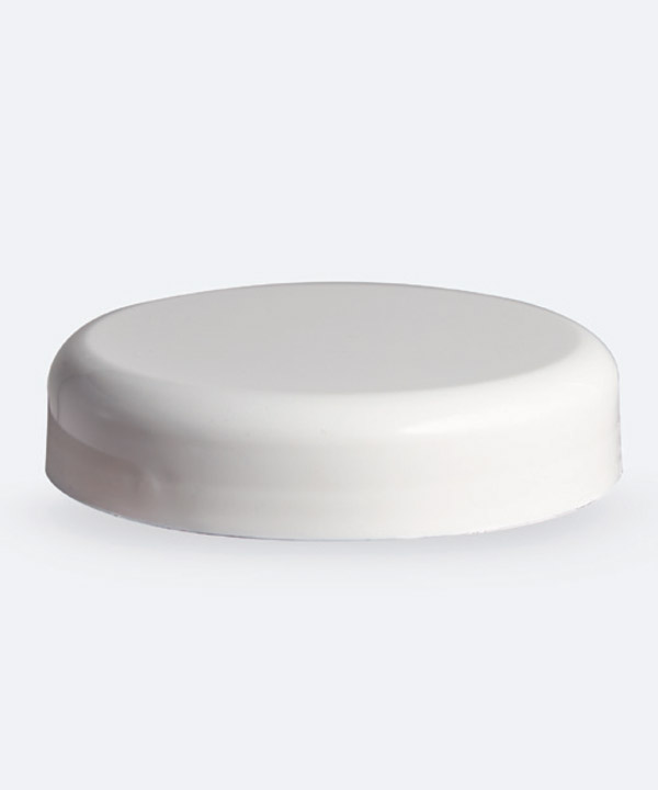 Tapa 63mm Cosmética Blanca