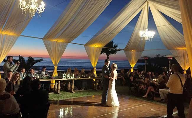 Wedding Lighted Canopy