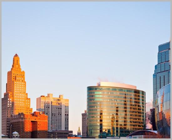 Kansas City Architecture at Sunrise